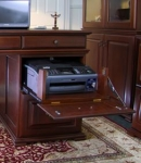 BPD-C Optional Pull Out Flap Down Printer Drawer. Model